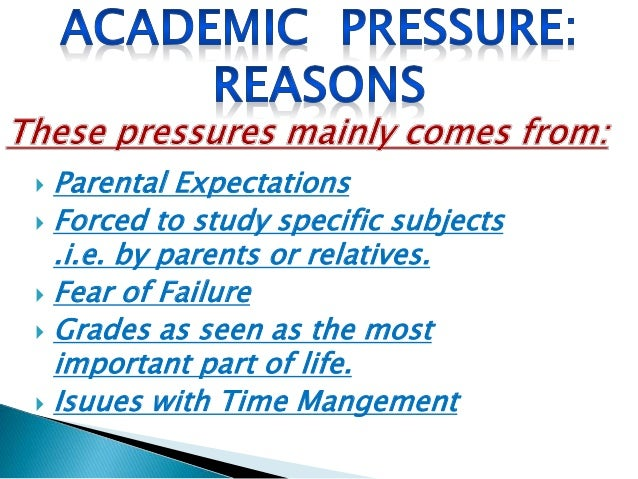 pressure to get good grades Students under pressure  that's good news for schools since they want to retain tuition revenue, but more important, it helps secure significantly higher lifetime .