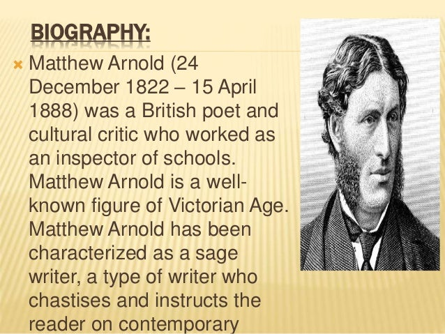 matthew arnold culture and anarchy analysis