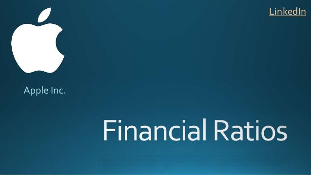 microsoft financial ratios