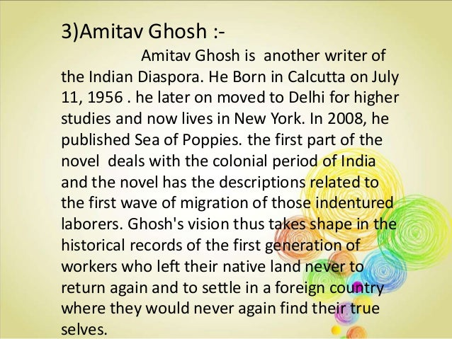 Conclusion :- The Home and Dislocation appeared again and again as the central themes in the writings of Indian Diasporic...