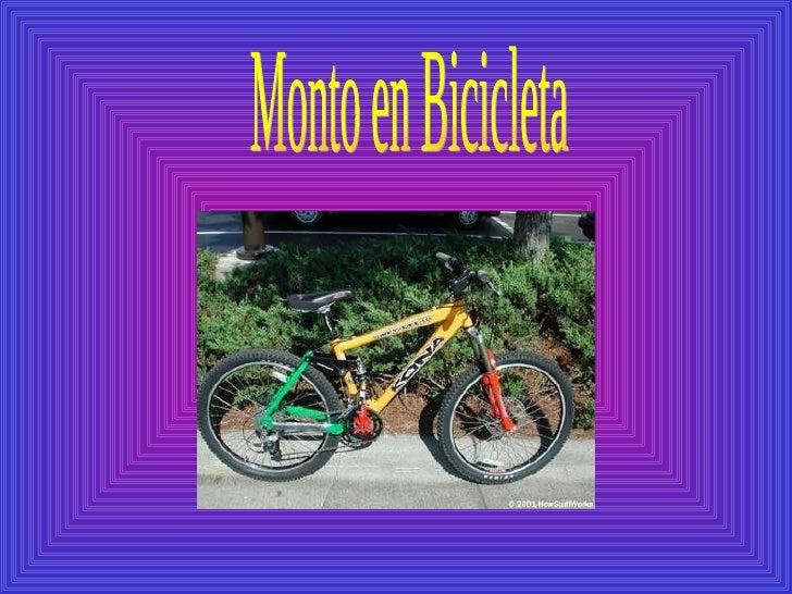 Monto en Bicicleta