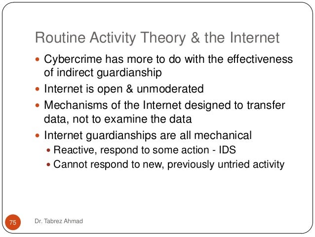 theories of cybercrime