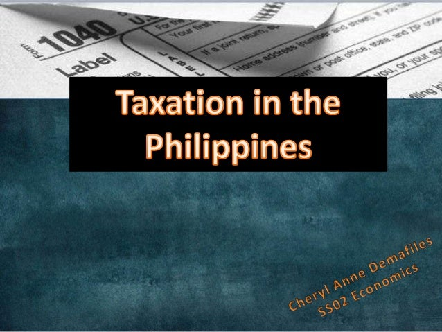 TAXATION is defined in many ways. Commonly heard definitions include: It is the process by which the sovereign, through i...