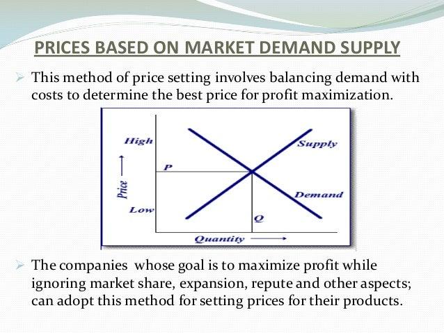 pricing methods in marketing pdf
