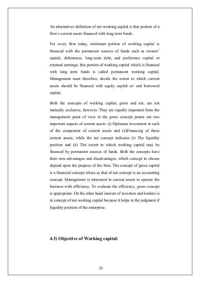 Working Capital Management at Bajaj Auto Ltd. Paper