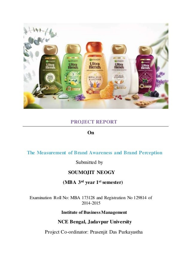 """mba students' brand awareness and preference Of brand awareness and brand perception"""" submitted for the mba degree is   22 most of the respondents are students and are not earning anything   showing customer's 1st preference towards l'oreal."""