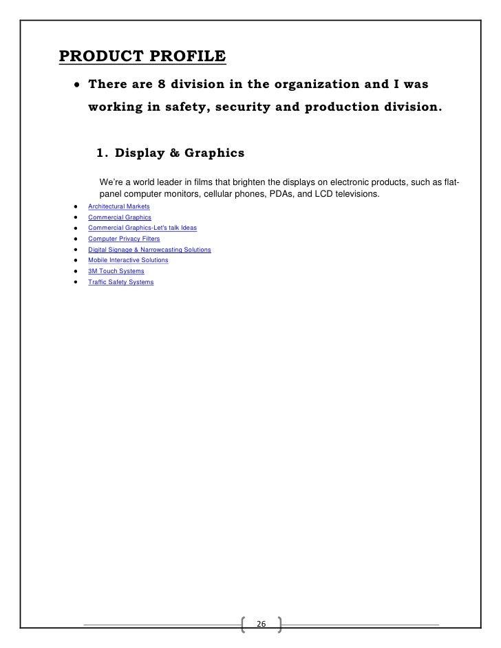 Market Analysis project Report 3M india ltd -manendra shukla