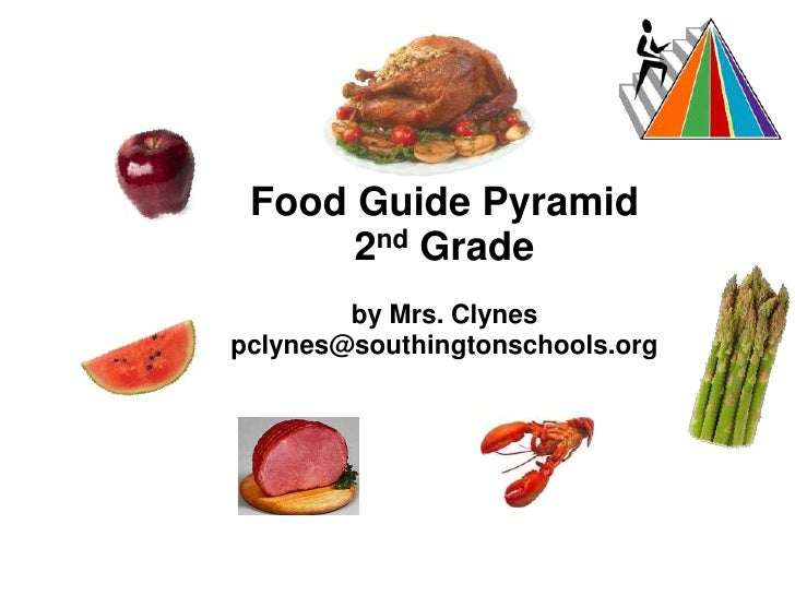 Food Guide Pyramid<br />2nd Grade<br />by Mrs. Clynes<br />pclynes@southingtonschools.org<br /><br />