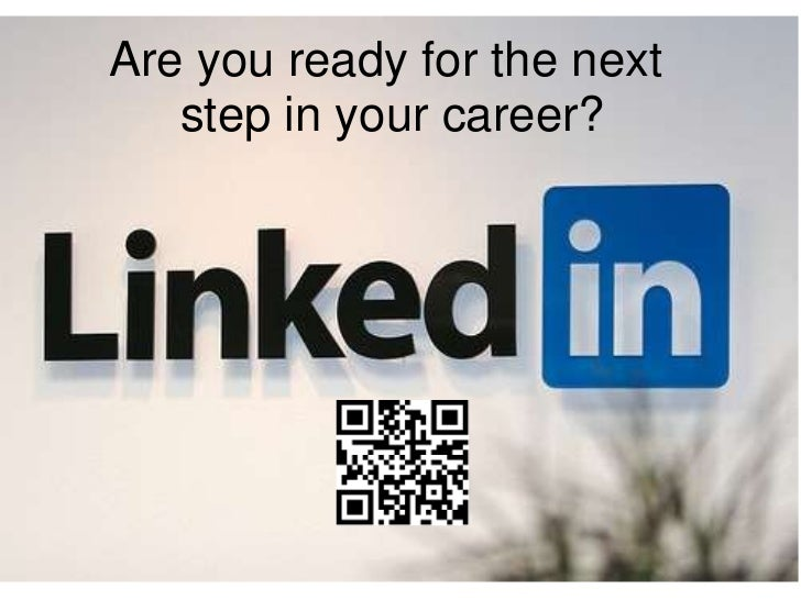 Are you ready for the next   step in your career?