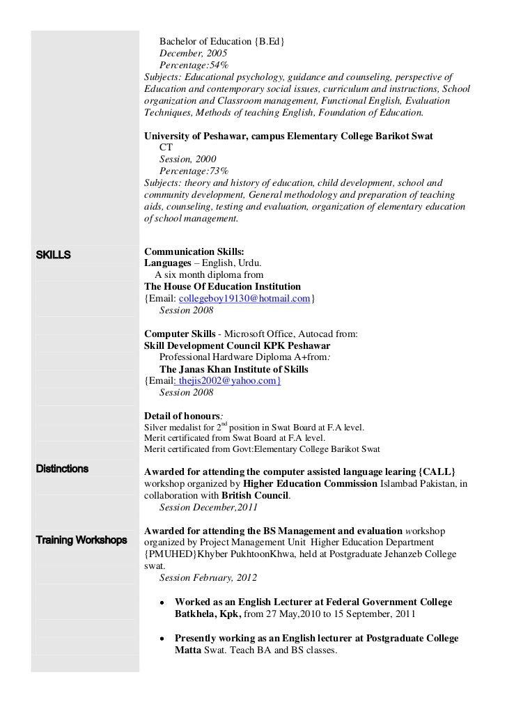 sample modern language teacher resume - Roho.4senses.co