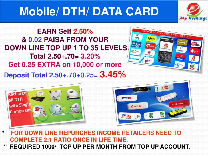 Myrecharge ppt new
