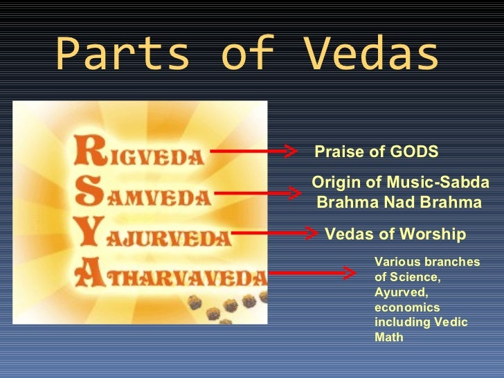 relationship between vedic religion and upanishads meaning
