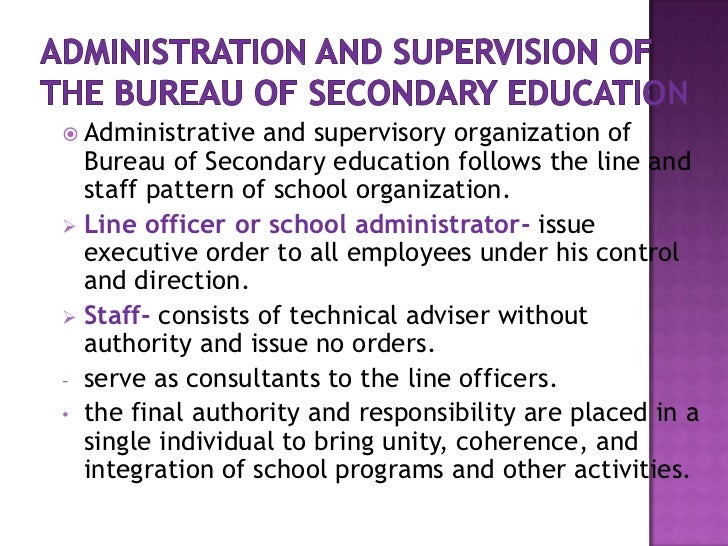 principles of educational management and supervision The educational leadership: administration and supervision test is intended to assess a candidate's knowledge of the functions of an administrator or supervisor, including the background of information needed to implement these functions.
