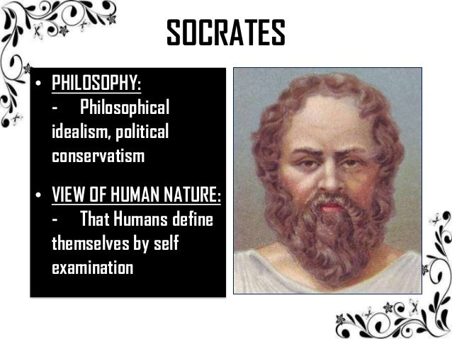 an analysis of the philosophical influence by socrates In addition, i will write about their influence in today's however socrates set on self-analysis it did not philosophy: socrates and the divine theory.