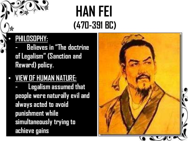 Han Fei On Human Nature