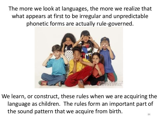 phonological gist consequence