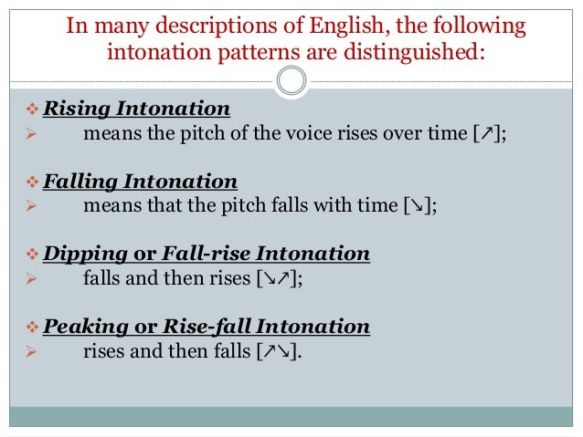 use of intonation definition