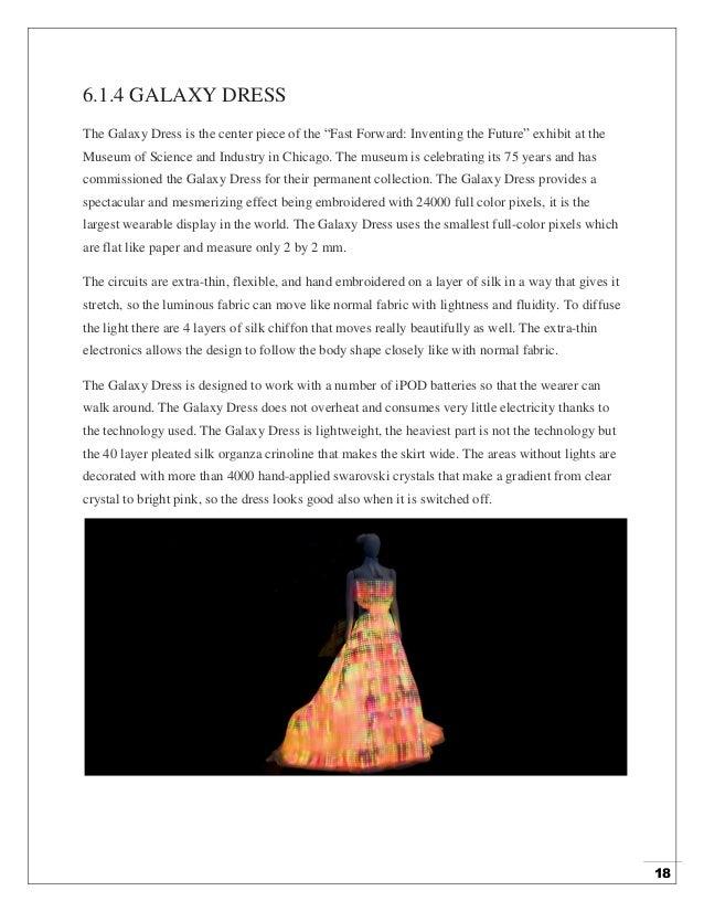 Seminar Report On Topic Smart Fabrics By Sunil Bandotra