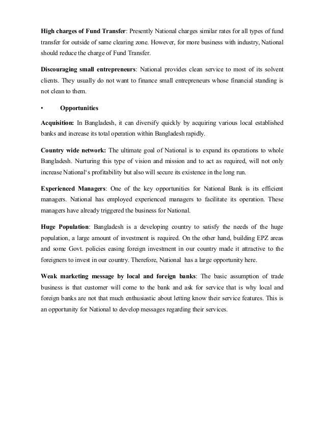 Internship Report on National Bank of Pakistan(NBP)
