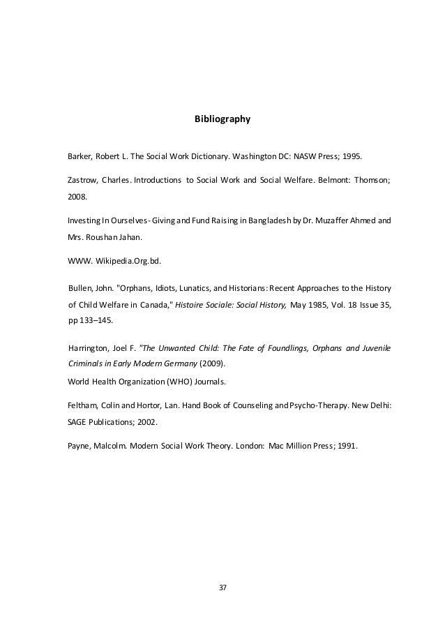 Field work report of sir salimullah muslim orphanage