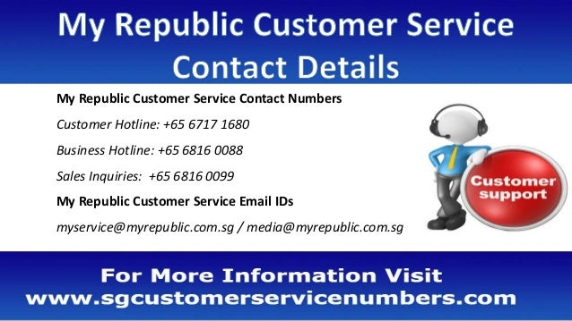 My Republic Customer Service Number, Office Address, Email ID, Website