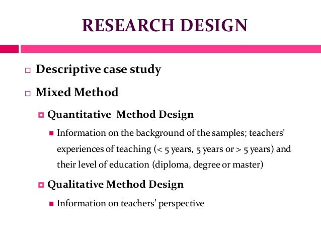 methodology for master thesis nhh