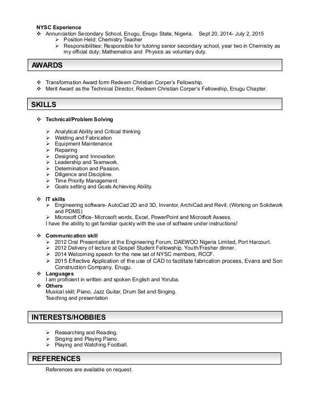 my resume adebomi blessing pdf docx