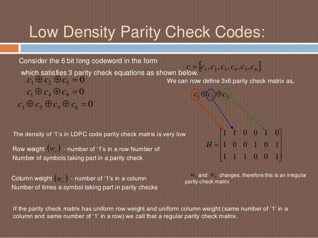 parity check checksum and hamming code All data that is moved must be checked at the receiving end to verify, with over 99 % confidence, that the  a hamming code is a data word mixed with its  checksum  for example, the parity bit for 0 1 1 0 0 1 1 is 0, since there are four  1s.