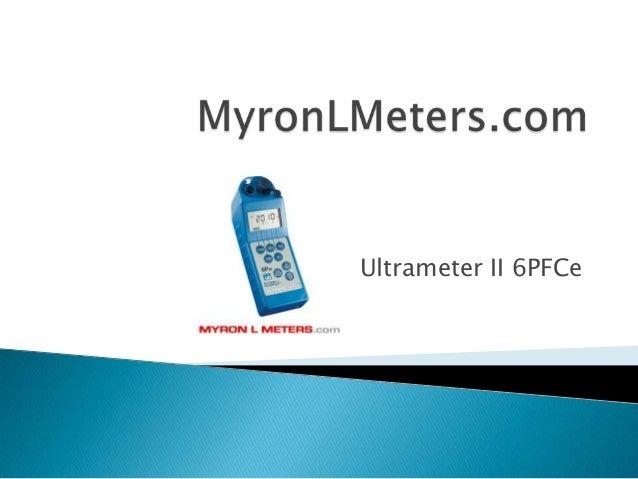 Ultrameter II 6PFCe