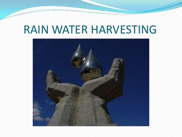Rainwater harvesting (civil engineering seminar) Slide 2