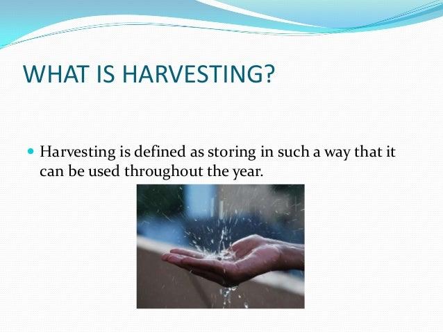 Rainwater harvesting (civil engineering seminar) Slide 3