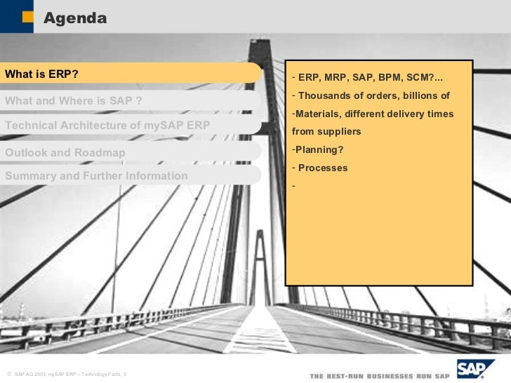 My Saperp Technology Facts 22 11 2011