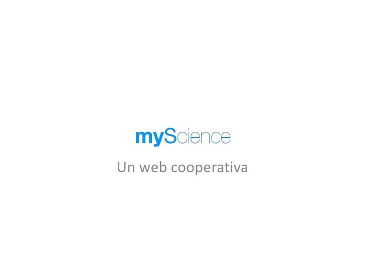 Un web cooperativa<br />
