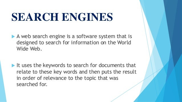 a look at internet search engines They are people who are looking for exactly what you are offering on your  website,  natural or organic positioning in search engines is a content, product  or.