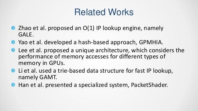 IP Address Lookup By Using GPU