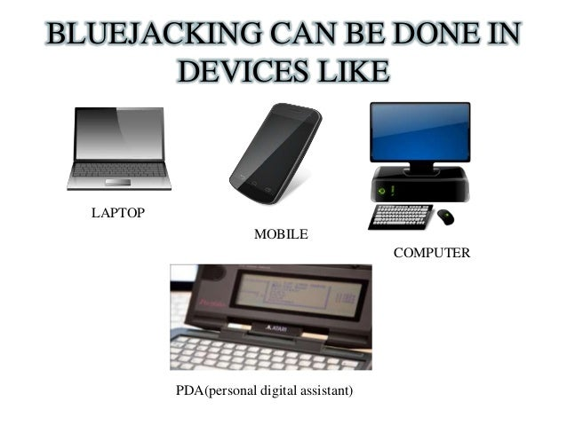 Bluejacking Seminar pdf report with PPT