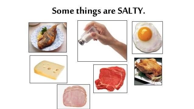 Taste of cum salty