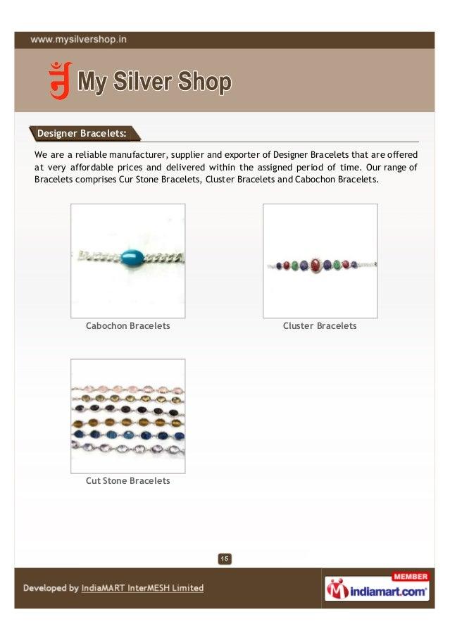 Designer Bracelets:We are a reliable manufacturer, supplier and exporter of Designer Bracelets that are offeredat very aff...