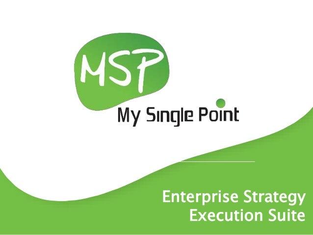 Enterprise Strategy Execution Suite