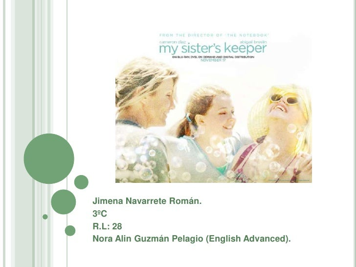 Jimena Navarrete Román.<br />3ºC <br />R.L: 28<br />Nora Alin Guzmán Pelagio (EnglishAdvanced).<br />