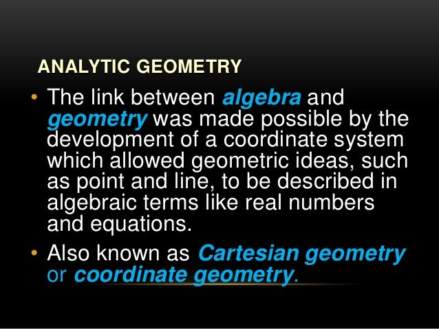 analytical geometry grade 10 pdf