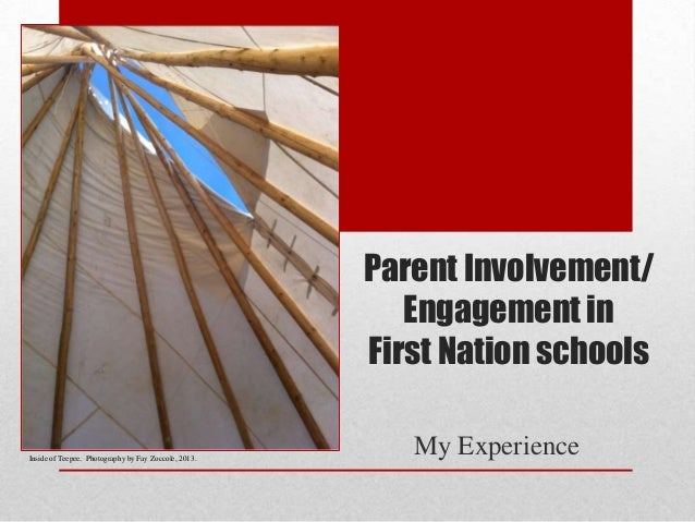 Parent Involvement/ Engagement in First Nation schools  Inside of Teepee. Photography by Fay Zoccole, 2013.  My Experience