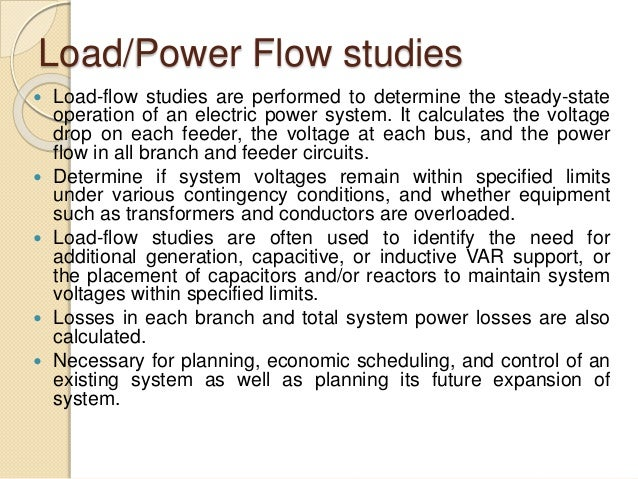 Classification of Power System Buses - Definition ...