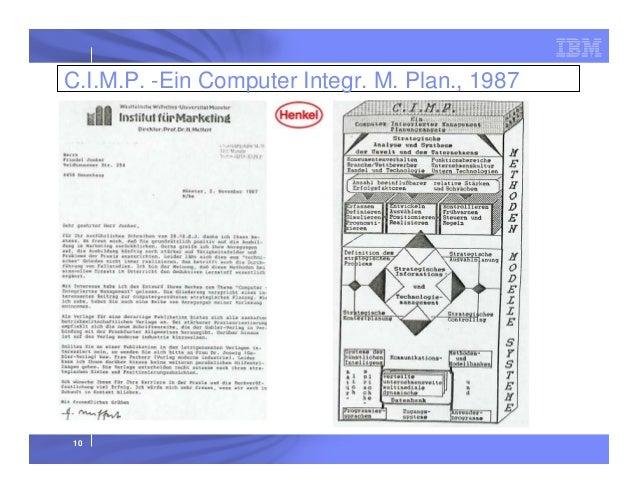 C.I.M.P. -Ein Computer Integr. M. Plan., 1987  10
