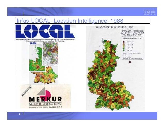 Infas-LOCAL -Location Intelligence, 1988  11