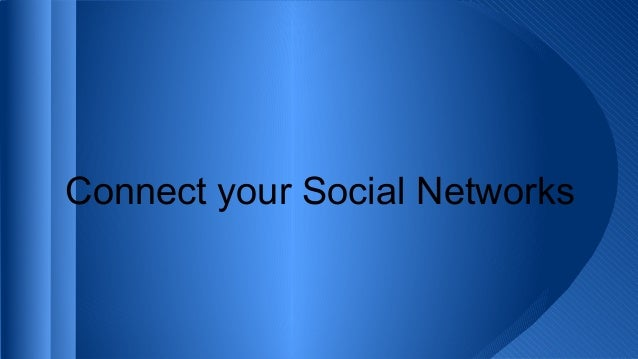 Connect your Social Networks