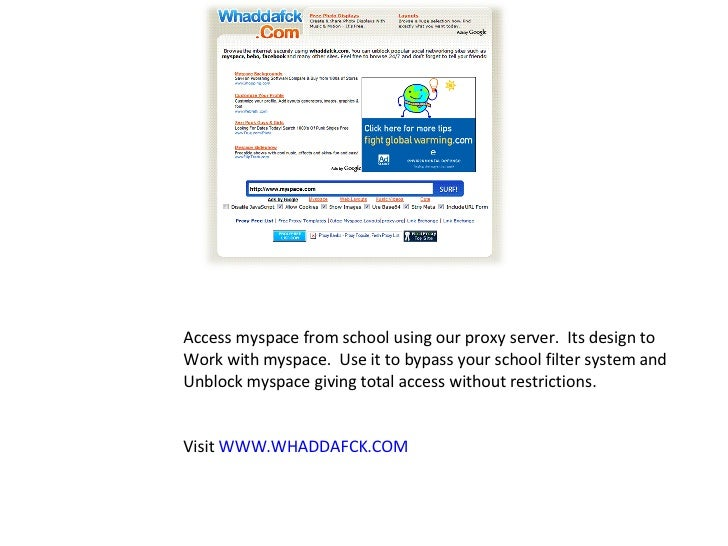 how to delete advertisement on myspace