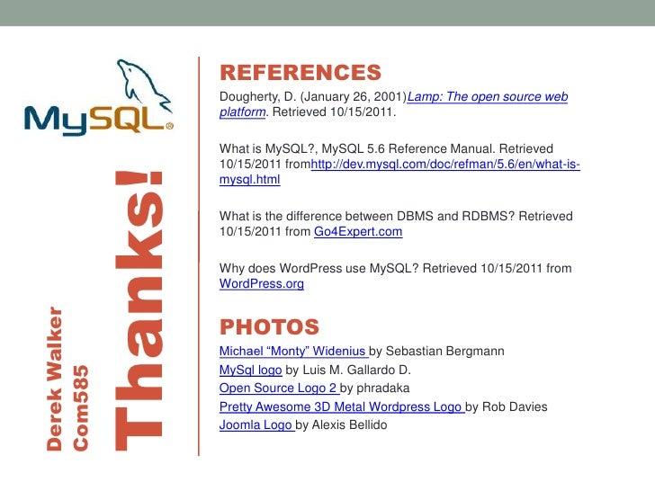 mysql rh slideshare net PC Manual Reference VA Manual Reference