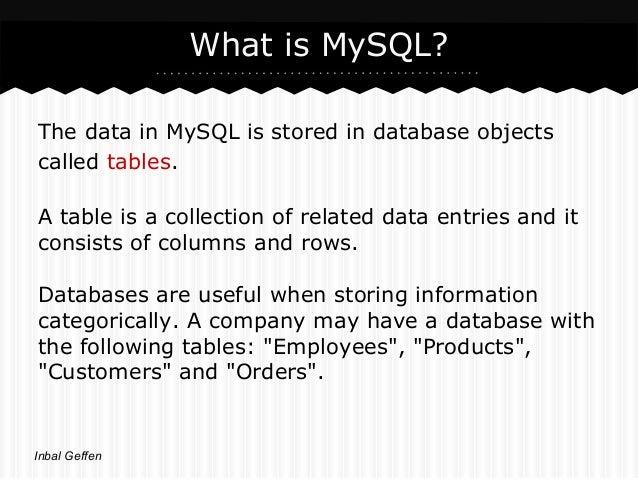 Mysql & Php Slide 3