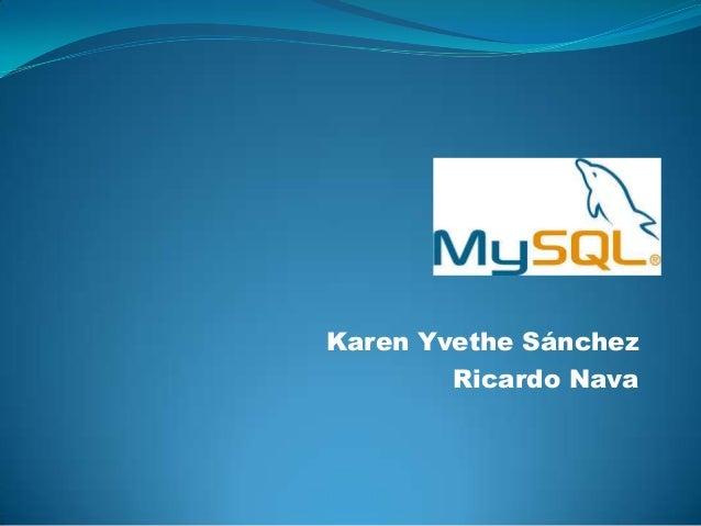 Karen Yvethe SánchezRicardo Nava